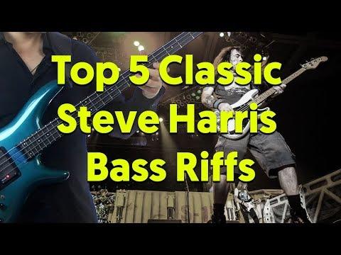 Top 5 Iron Maiden Bass Riffs