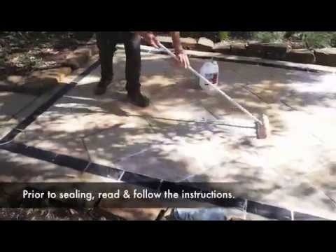 How to seal Sandstone tiles