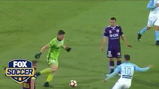 A-League goalkeeper makes an embarrassing blunder    FOX SOCCER