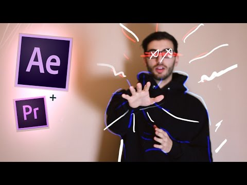 Animated Music Video Scribble Effect in After Effects! (Tutorial / How to) (CC 2017)