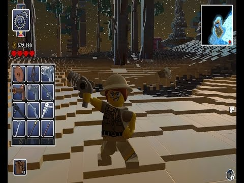Lego Worlds - All Weapons & Items