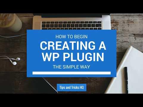 How to Begin Creating a WordPress Plugin