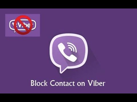 Block Numbers / Contact On Viber