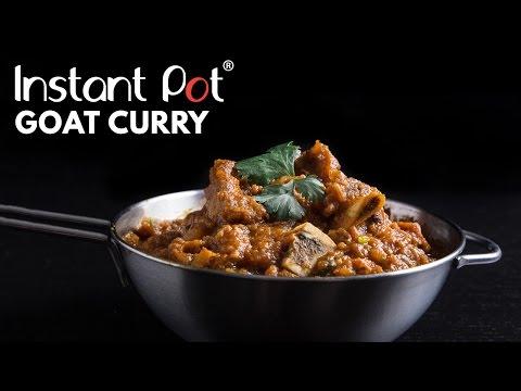 Instant Pot Goat Curry Recipe