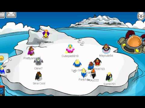 Club Penguin How To Throw Snowballs REALLY Fast!!