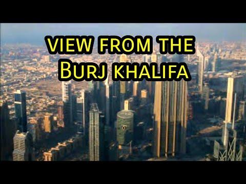 Burj Khalifa Dubai: At the top on the viewing platform