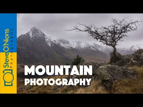 Snowdonia Mountains Photoshoot - Don't let the weather beat you!