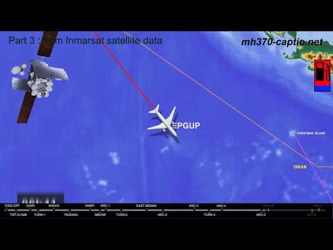 Missing Flight MH370: Piloted Trajectory (1/2)