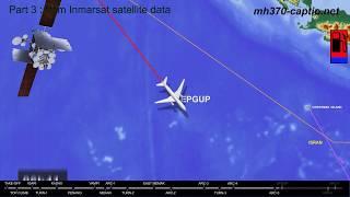 Missing Flight MH370: Piloted Trajectory (1/3 - CAPTIO)