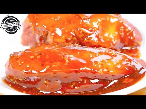 Slow Cooked Sweet Garlic Chicken - Crock Pot Recipe