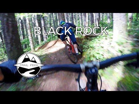 Just Gonna Send It! - Black Rock Mountain Bike Area - Mountain Biking Falls City, Oregon