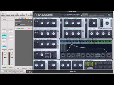 Massive Tutorial: Skrillex - Make It Bun Dem Screech Bass Synth