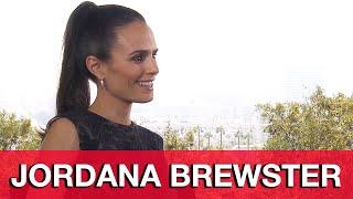 Furious 7 Jordana Brewster Interview - Fast & Furious 7