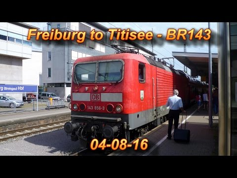 Freiburg to Titisee - A Train Ride In The Black Forest!