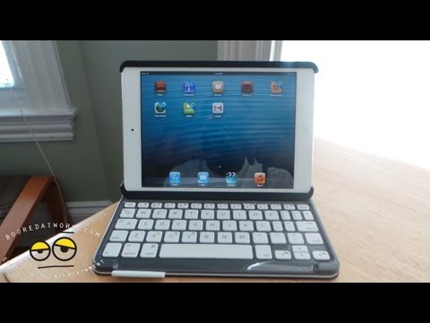 Logitech Folio iPad Mini Keyboard Review