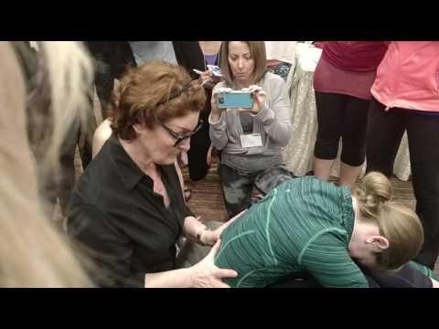 Spine massage thru breath scoliosis