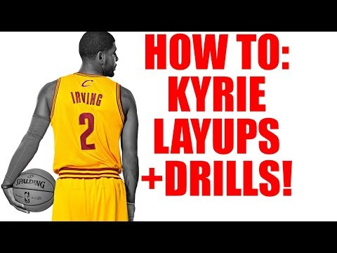 How To Kyrie Irving Layup Drills Tutorial! Finish At The Rim In Basketball
