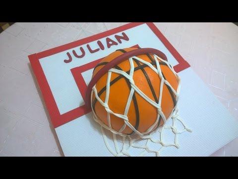 TORTA PELOTA DE BASQUET Paso a Paso 🏀    How To Make a Basketball Cake!