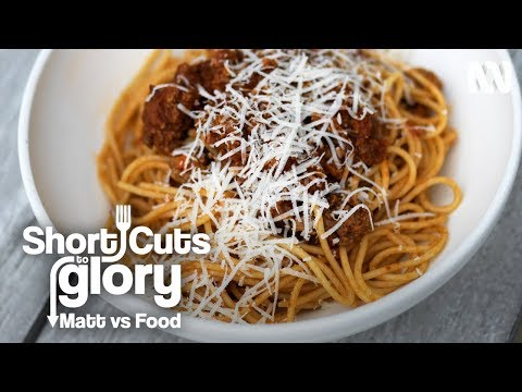 Short Cuts To Glory: How To Make Spaghetti Bolognese with Giovani Pilu