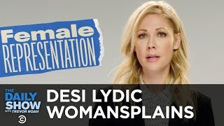 We Need a Lot More Women to Run for Congress - Desi Lydic Womansplains   The Daily Show