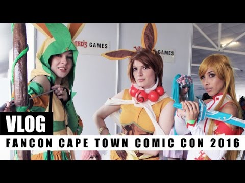 VLOG! FanCon Cape Town Comic Con 2016 | My First Cosplay - Asuna of Sword Art Online