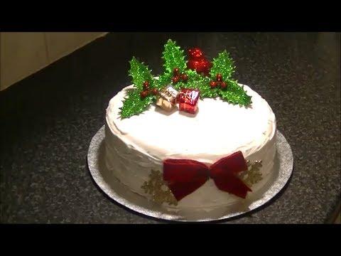 CHRISTMAS CAKE *COOK WITH FAIZA*