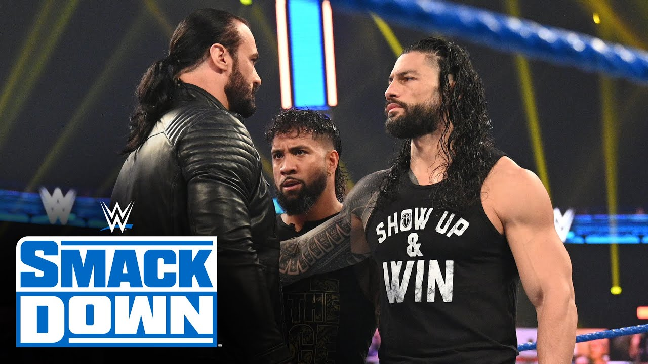 Drew McIntyre journeys to SmackDown to confront Roman Reigns: SmackDown, Nov. 13, 2020