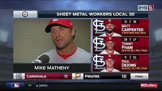 Mike Matheny on Cardinals