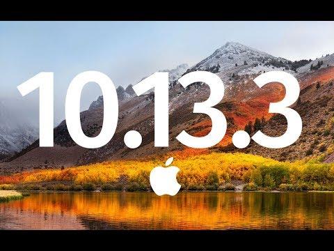 How to download and install High Sierra 10.13.3 Supplemental Update - Macbook,iMac,Mac mini, Mac Pro