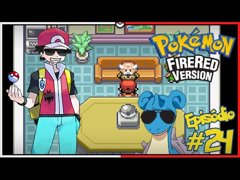 Pokémon Fire Red Let's Play #24: Silph Co. de Saffron, Pegamos LaPROS Boladão [Parte 02/02]