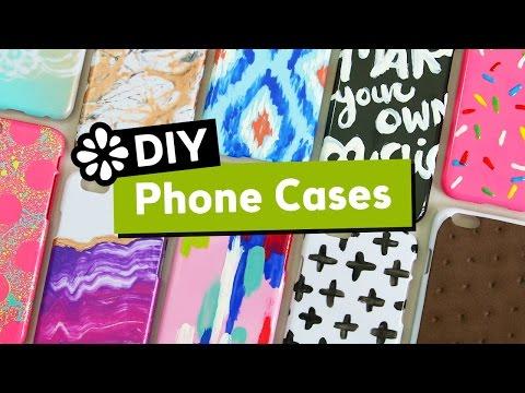 10 Cute & Easy DIY Phone Cases | Sea Lemon