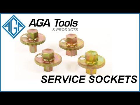 AGA Tools Service Socket Kit