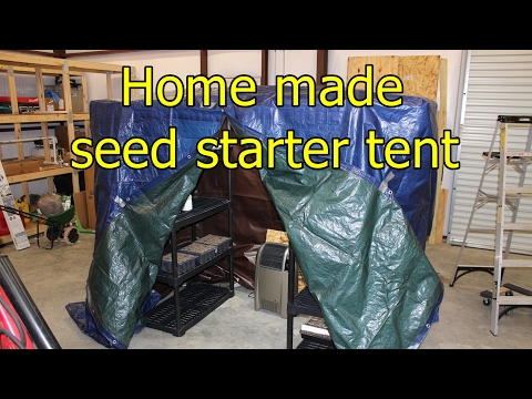 How to prepare for the garden growing season - In your garage