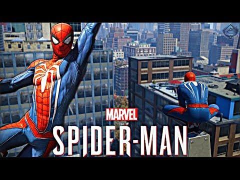 Spider-Man PS4 - NEW OPEN WORLD WEB SWINGING GAMEPLAY!