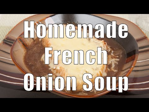 Homemade French Onion Soup (Med Diet Episode 67)