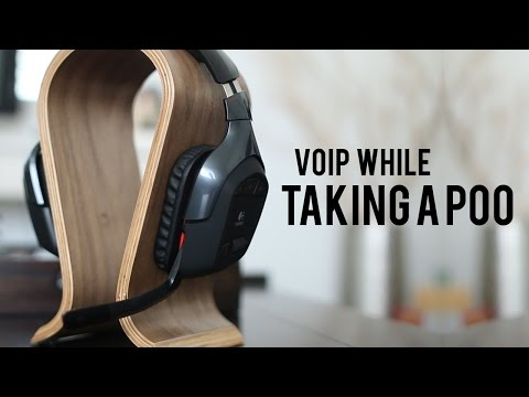 Logitech G930 Wireless Gaming Headset - The Good and Bad