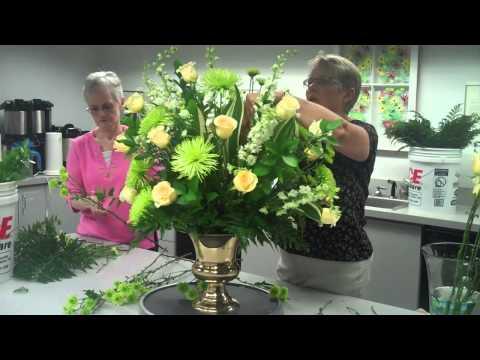 Altar Flower Arrangement STEP FOUR