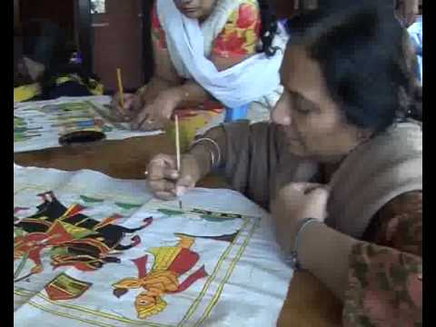 IGRMS Do & Learn Rajasthani Painting & Bandhej 22 ~