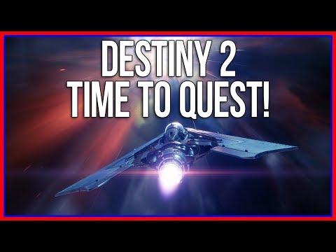 HOW DO I EVEN QUEST?! | Destiny 2 part 3