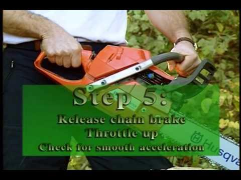 Chainsaw Field Maintenance