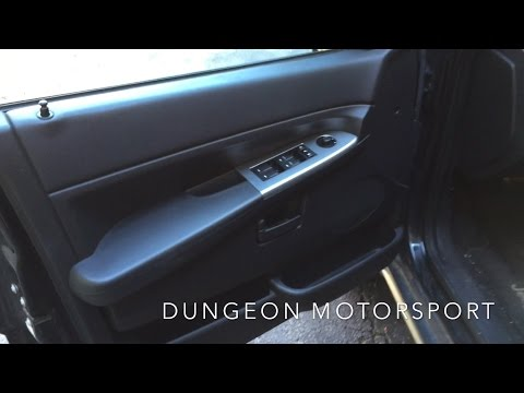 HOW TO: Jeep Grand Cherokee Door Lock Fix / Door Panel Removal (2005-2010 WK)