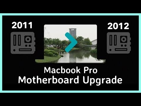 Upgrade 2011 Macbook Pro Motherboard to 2012 - How To