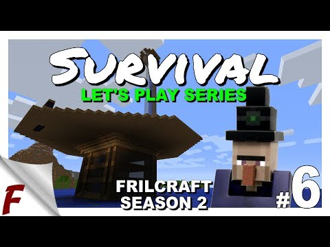 ✔️ Let's Play Minecraft Survival Series Video | Witch Farm | Episode 6