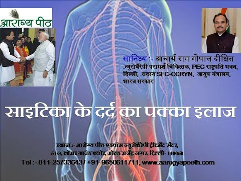 Quick relief from Sciatica & Lower back Pain by Neurotherapy at 09650611711