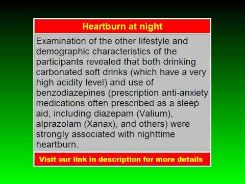 Heartburn at Night