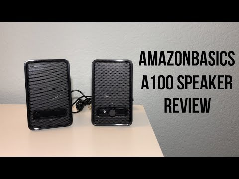 AmazonBasics Speakers Review