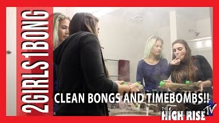 How To Clean Your Bong Plus Smoking A Time Bomb