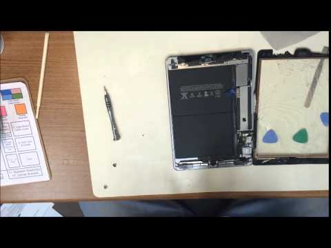 iPad Air Screen Replacement - Disconnect The Battery First!