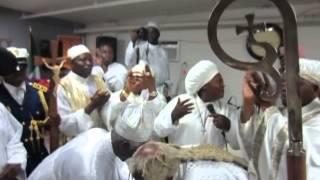 GENERAL PROPHET ABRAHAM A  FASH dances with BABA ALADURA