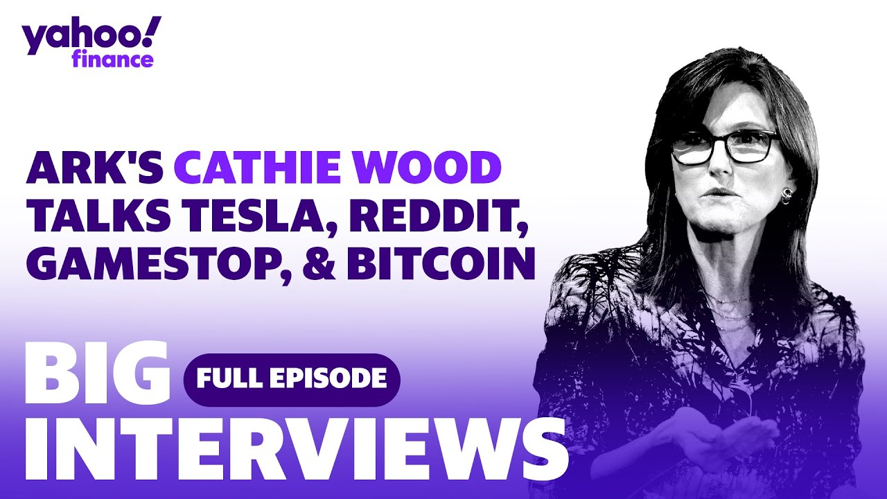 Cathie Wood discusses her investing picks, plus her insight on Reddit, GameStop, Tesla and bitcoin